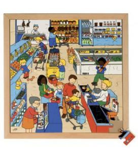 Supermarket Puzzle