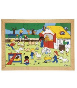 Farm Visit Puzzle