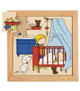 Baby Sleeping Puzzle