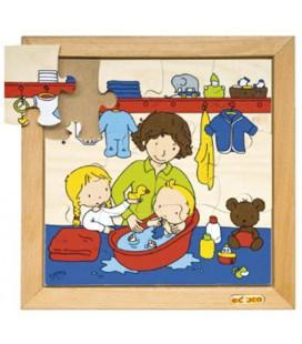 Baby Bathing Puzzle