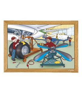 Airplane Puzzle