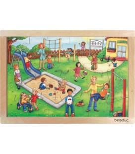 Kindergarten Frame Puzzle