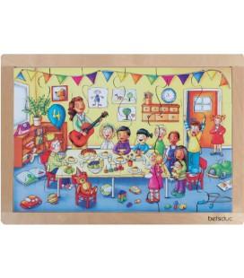 Birthday Frame Puzzle