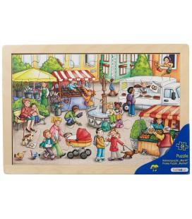 Market Frame Puzzle