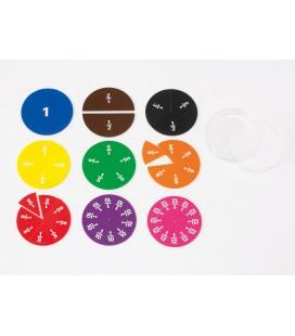 Fraction Circles Printed