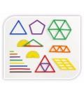 Geostix Math Activity Set (100pcs) & 16 Activity Cards